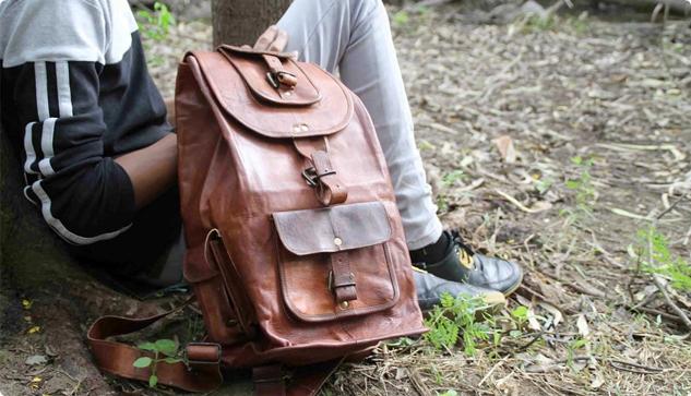 Damskie plecaki skórzane